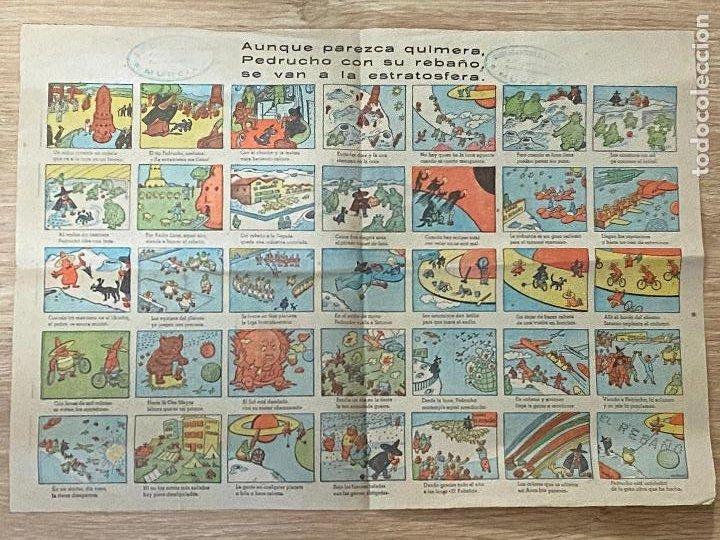 AUNQUE PAREZCA UNA QUIMERA PEDRUCHO , LANAS EL REBAÑO , AÑOS 50 (Coleccionismo en Papel - Varios)