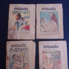 Coleccionismo Papel Varios: LOTE DE 5 MINICUENTOS. 4 ESQUITX, EN CATALÁN . VER FOTOS.. Lote 266225823