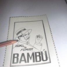 Coleccionismo Papel Varios: RECORTE PUBLICIDAD AÑO 1927 - PAPEL DE FUMAR BAMBÚ. Lote 266326258