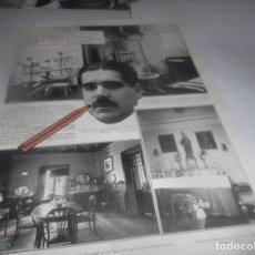 Coleccionismo Papel Varios: RECORTE AÑO 1922(MADRID)SE HA INAGURADO NUEVO SANATORIO QUIRURGICO SANTA ALICIA ,DEL DR.VITAL AZA. Lote 266568488