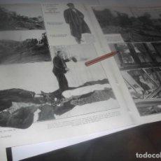 Coleccionismo Papel Varios: RECORTE AÑO 1922.PAREDES DE NAVA(PALENCIA)CHOQUE TRENES CORREO ASTURIAS Y RAPÍDO GALICIA(FILIPINAS. Lote 266574828