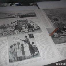 Coleccionismo Papel Varios: RECORTE AÑO 1922NADOR(MARRUECOS)ESCUELA,TENIENTE CORONEL NÚÑEZ D PRADO(LA ARGENTINITA-R.GOMEZ SERNA. Lote 266587373