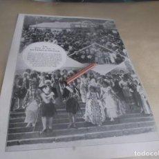 Altri oggetti di carta: RECORTE AÑO 1922(MADRID) UNA FIESTA DE ARTE EN SAN LORENZO DE EL ESCORIAL (JABÓN HENO DE PRAVIA. Lote 267828459