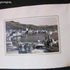 Coleccionismo Papel Varios: PORT DE LA SELVA-HOTEL COMERCIO-FELICITACION ANTIGUA AÑO 1952--VER FOTOS-(K-3234). Lote 268160524
