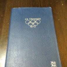 Coleccionismo Papel Varios: CARTILLA OLIMPIADA 1972. Lote 268906464