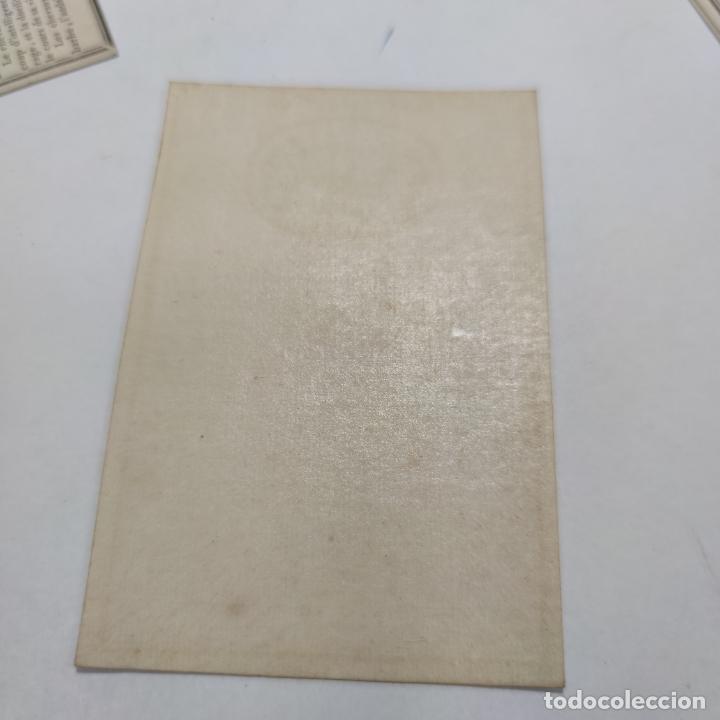 Coleccionismo Papel Varios: Colección de 43 cartas en estuche. La historia de los animales. París. Chez ant. Aug. Renouard. - Foto 8 - 268938964