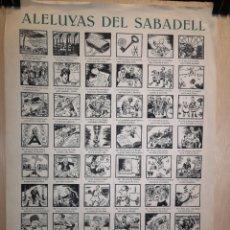 Coleccionismo Papel Varios: AUCA - ALELUYAS DE SABADELL - SIGLO XX - 34.50 X 49.50 CM. Lote 269059763
