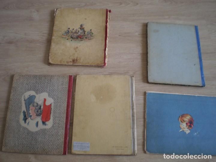 Coleccionismo Papel Varios: 5 CUENTOS AÑOS 30-40. EN FRANCES. BIBICHE PETIT FILLE, UN BON PETIT DIABLE..... - Foto 2 - 269077078
