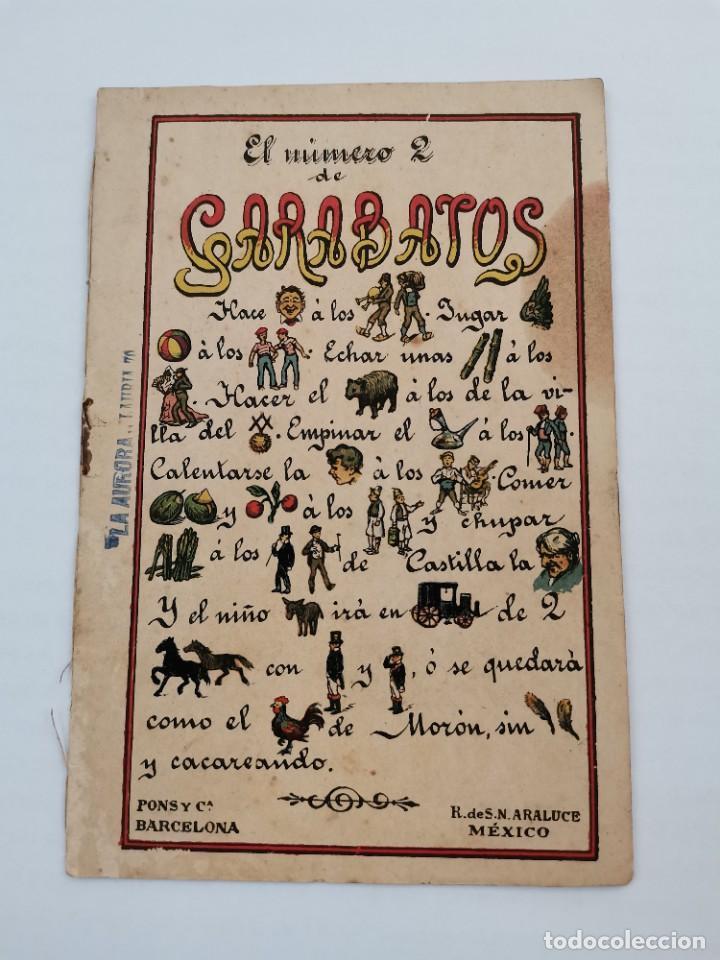 P-12761. GARABATOS,NUM.2. PONS Y Cª. (Coleccionismo en Papel - Varios)