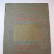Coleccionismo Papel Varios: BARCELONA-RECUERDO DE LA EXPOSICION INTERNACIONAL DE ARTE-AÑO 1907-VER FOTOS-(V-22.809). Lote 269151568