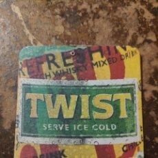 Coleccionismo Papel Varios: POSAVASOS TWIST SERVE ICE COLD. Lote 269175583