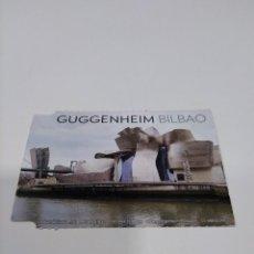 Coleccionismo Papel Varios: ENTRADA MUSEO GUGGENHEIM BILBAO.. Lote 269220358