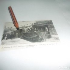Collectionnisme Papier divers: RECORTE AÑO 1922(BARCELONA)DIRECTOR OBRAS PÚBLICAS INAGURA TREN DE LA PUDA(MONTSERRAT) Á MONISTROL. Lote 269235038
