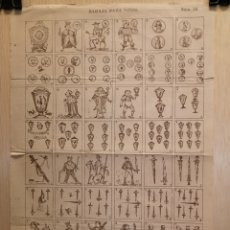 Collectionnisme Papier divers: AUCA - ALELUYA - BARAJA PARA NIÑOS - SIGLO XIX - 28.50 X 40 CM. Lote 269369008