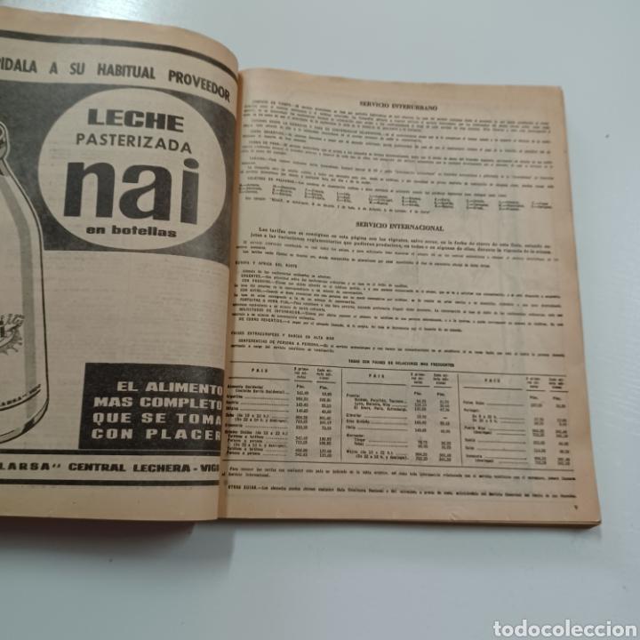 Coleccionismo Papel Varios: GUIA TELEFONICA PONTEVEDRA Y PROVINCIA 1967 VIGO REDONDELA CANGAS VILLAGARCIA SILLEDA LA GUARDIA ... - Foto 3 - 270530493