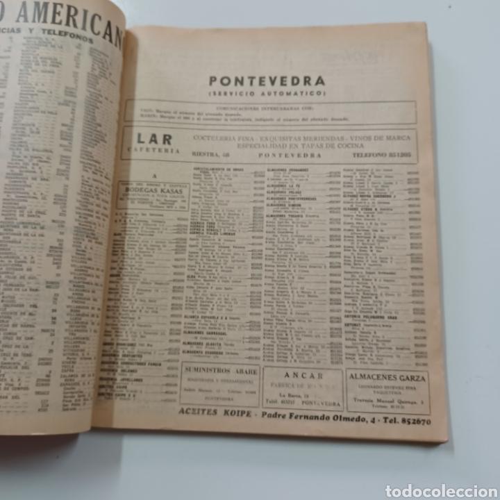 Coleccionismo Papel Varios: GUIA TELEFONICA PONTEVEDRA Y PROVINCIA 1967 VIGO REDONDELA CANGAS VILLAGARCIA SILLEDA LA GUARDIA ... - Foto 4 - 270530493