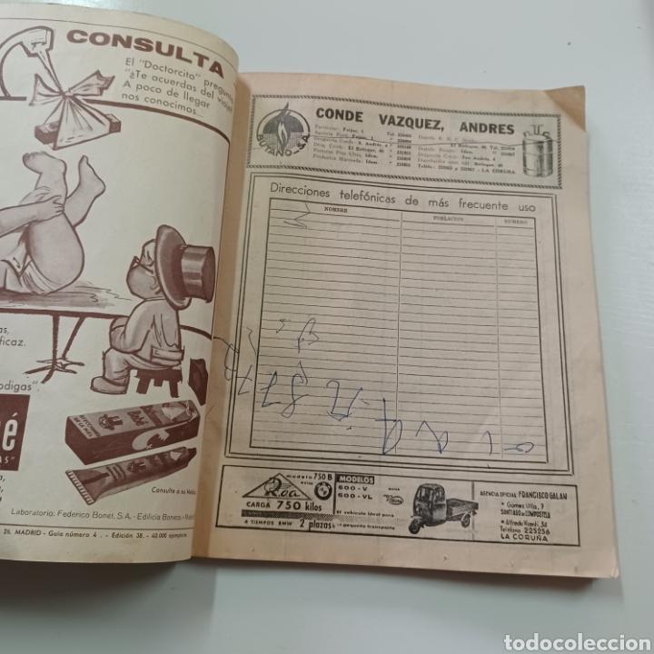 Coleccionismo Papel Varios: GUIA TELEFONICA LA CORUÑA Y PROVINCIA 1966 FERROL SANTIAGO DE COMPOSTELA ... - Foto 2 - 270531683