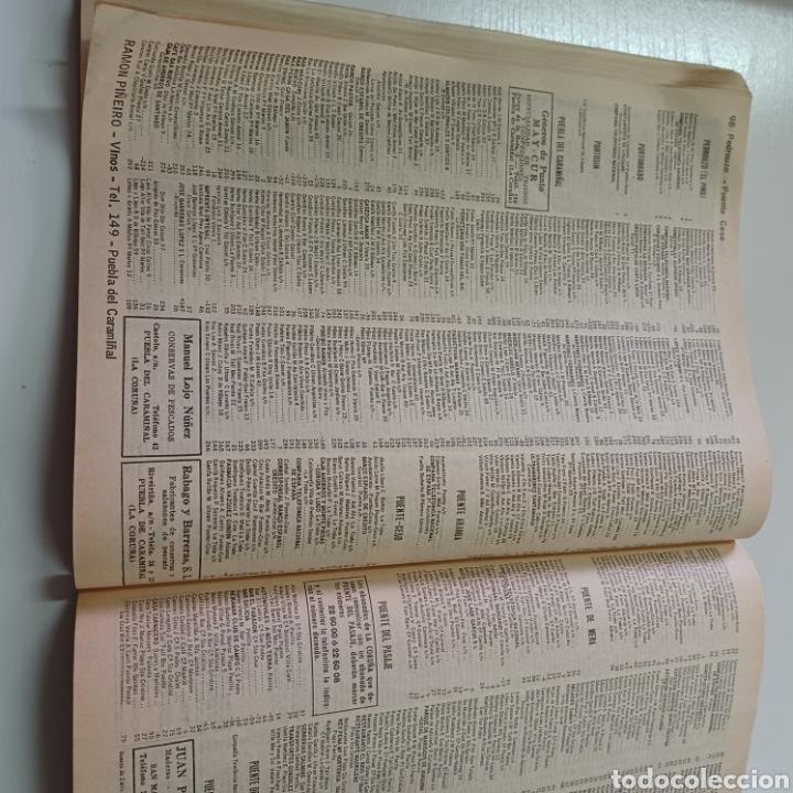 Coleccionismo Papel Varios: GUIA TELEFONICA LA CORUÑA Y PROVINCIA 1966 FERROL SANTIAGO DE COMPOSTELA ... - Foto 5 - 270531683