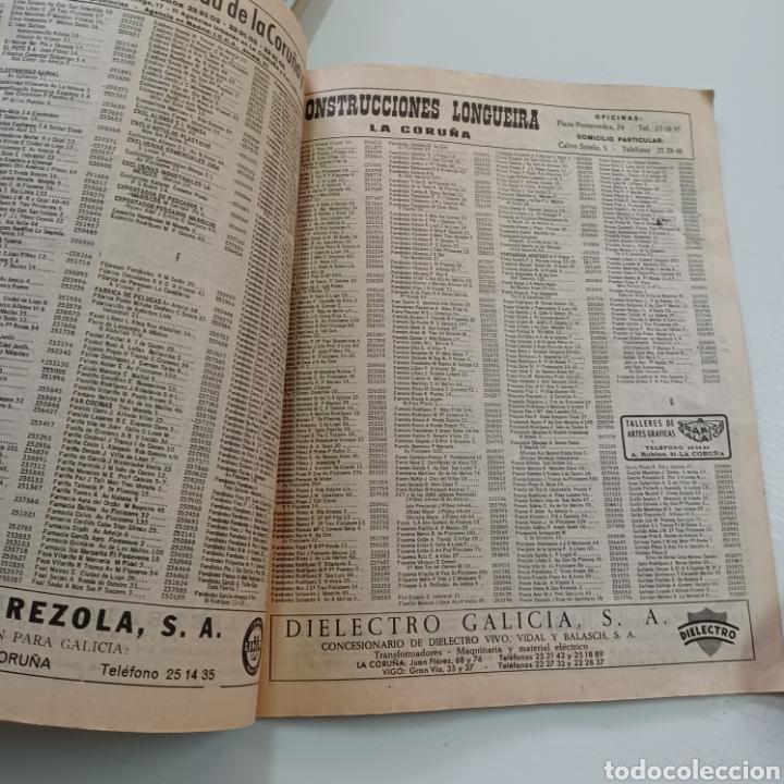 Coleccionismo Papel Varios: GUIA TELEFONICA LA CORUÑA Y PROVINCIA 1966 FERROL SANTIAGO DE COMPOSTELA ... - Foto 8 - 270531683