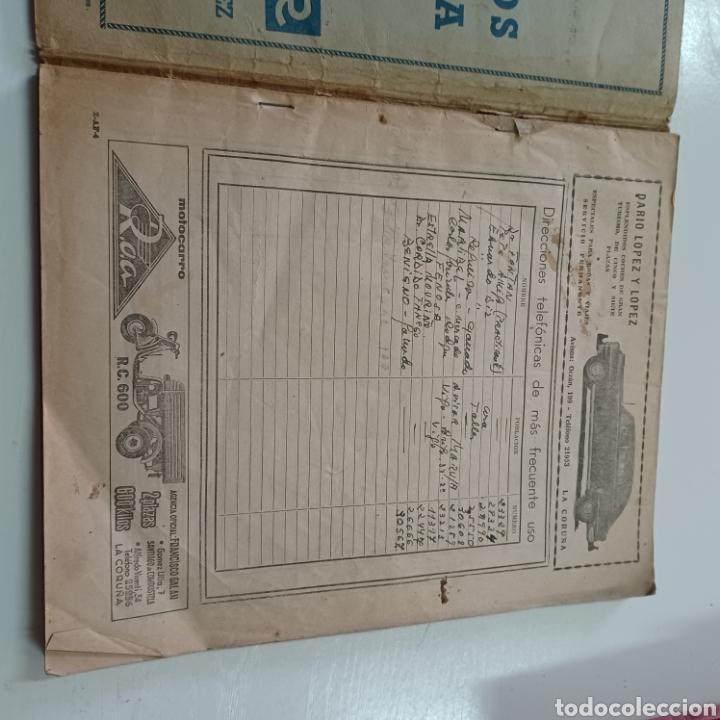 Coleccionismo Papel Varios: GUIA TELEFONICA 1961 LA CORUÑA Y PROVINCIA - SANTIAGO DE COMPISTELA FERROL .... - Foto 2 - 270532638