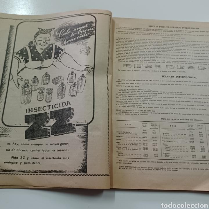 Coleccionismo Papel Varios: GUIA TELEFONICA 1961 LA CORUÑA Y PROVINCIA - SANTIAGO DE COMPISTELA FERROL .... - Foto 4 - 270532638