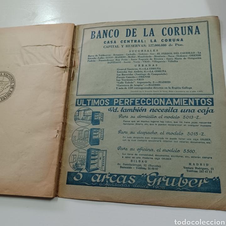Coleccionismo Papel Varios: GUIA TELEFONICA 1961 LA CORUÑA Y PROVINCIA - SANTIAGO DE COMPISTELA FERROL .... - Foto 8 - 270532638