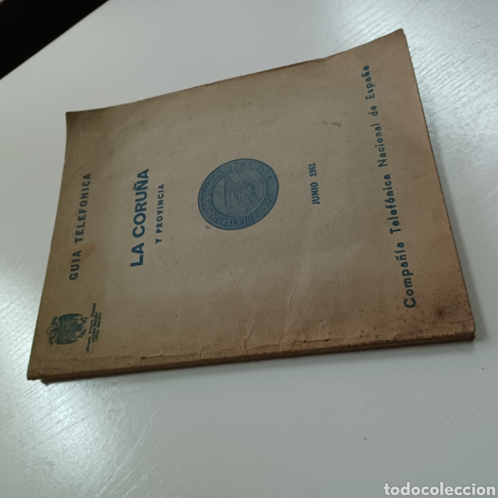 Coleccionismo Papel Varios: GUIA TELEFONICA 1961 LA CORUÑA Y PROVINCIA - SANTIAGO DE COMPISTELA FERROL .... - Foto 10 - 270532638