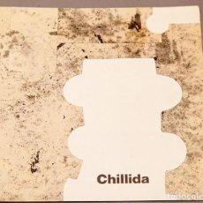 Coleccionismo Papel Varios: CHILLIDA JOAN PRATS - 1987. Lote 271013408