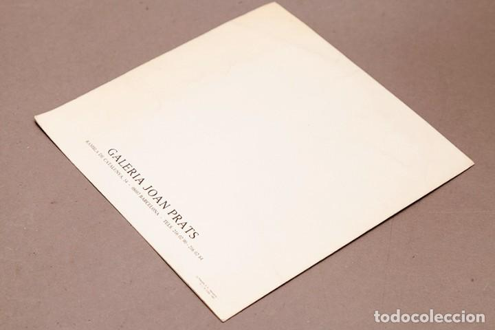 Coleccionismo Papel Varios: CHILLIDA JOAN PRATS - 1987 - Foto 3 - 271013408