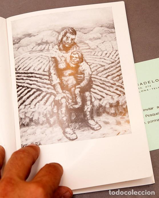 Coleccionismo Papel Varios: PINTURAS DE PESQUEIRA - 1972 - Galería Sargadelos Barcelona - Foto 5 - 271013958