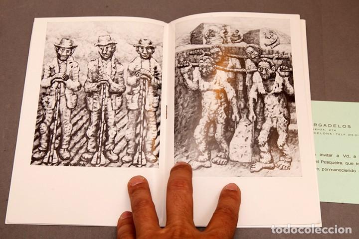 Coleccionismo Papel Varios: PINTURAS DE PESQUEIRA - 1972 - Galería Sargadelos Barcelona - Foto 6 - 271013958