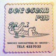 Outros artigos de papel: ANTIGUO POSAVASOS-DON OSCAR PUB - MADRID. Lote 273205063