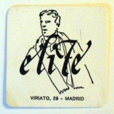 Outros artigos de papel: ANTIGUO POSAVASOS-ELITE MADRID. Lote 273205273