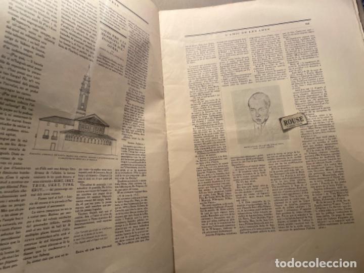 Coleccionismo Papel Varios: VANGUADIAS - REVISTA LAMIC DE LES ARTS - GASETA DE SITGES ANY II Nº17 - 31 DAGOST 1927 KRTU per J. - Foto 3 - 274406943