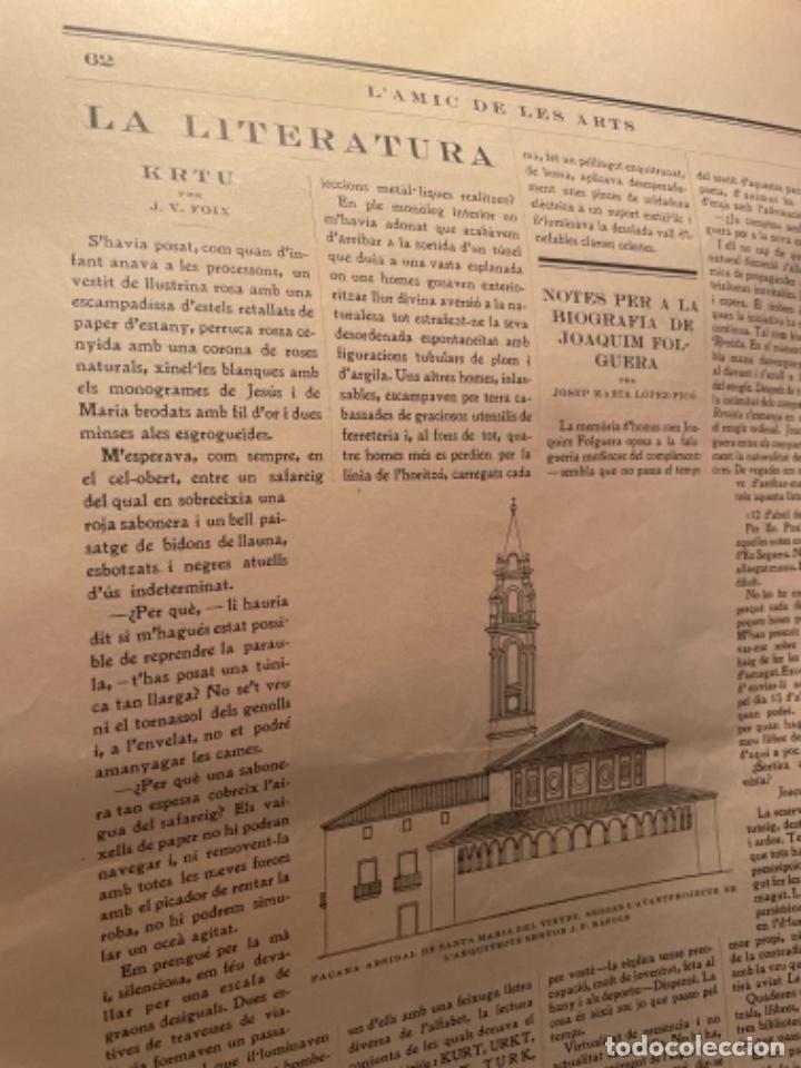Coleccionismo Papel Varios: VANGUADIAS - REVISTA LAMIC DE LES ARTS - GASETA DE SITGES ANY II Nº17 - 31 DAGOST 1927 KRTU per J. - Foto 4 - 274406943