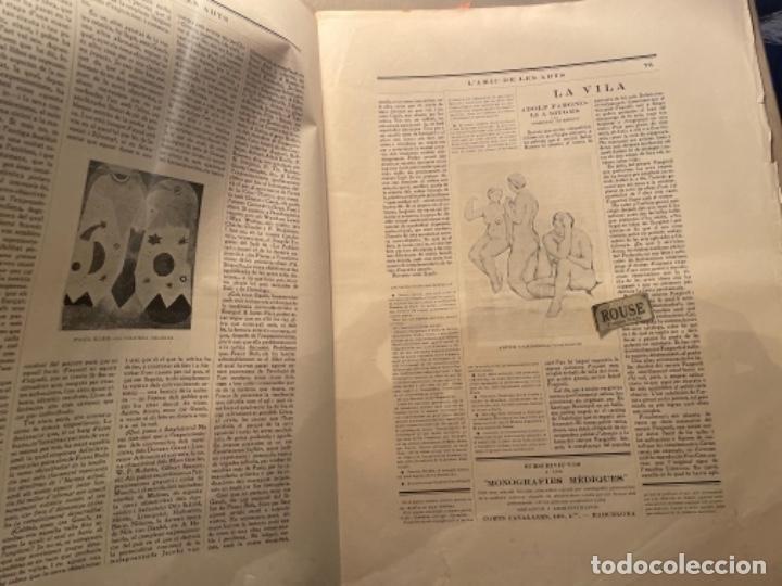 Coleccionismo Papel Varios: VANGUADIAS - REVISTA LAMIC DE LES ARTS - GASETA DE SITGES ANY II Nº17 - 31 DAGOST 1927 KRTU per J. - Foto 7 - 274406943