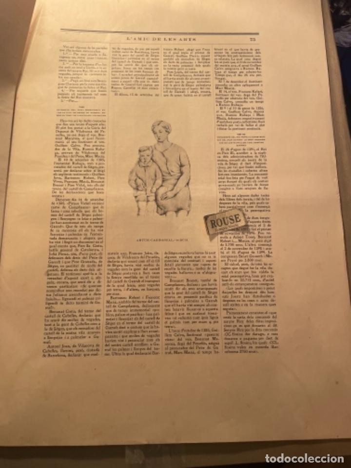 Coleccionismo Papel Varios: VANGUADIAS - REVISTA LAMIC DE LES ARTS - GASETA DE SITGES ANY II Nº17 - 31 DAGOST 1927 KRTU per J. - Foto 8 - 274406943