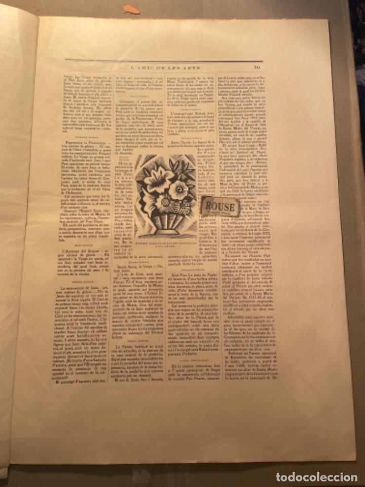 Coleccionismo Papel Varios: VANGUADIAS - REVISTA LAMIC DE LES ARTS - GASETA DE SITGES ANY II Nº17 - 31 DAGOST 1927 KRTU per J. - Foto 9 - 274406943