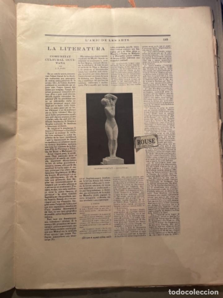 Coleccionismo Papel Varios: VANGUADIAS - REVISTA LAMIC DE LES ARTS - GASETA DE SITGES ANY II Nº12 - 31 DESEMBRE1927 DEDICAT CU - Foto 4 - 274414048