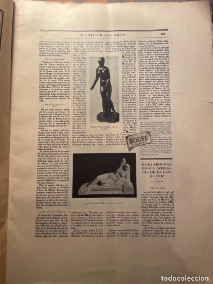 Coleccionismo Papel Varios: VANGUADIAS - REVISTA LAMIC DE LES ARTS - GASETA DE SITGES ANY II Nº12 - 31 DESEMBRE1927 DEDICAT CU - Foto 5 - 274414048