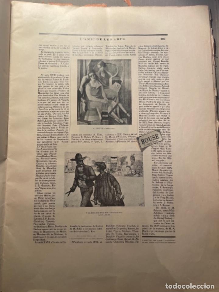 Coleccionismo Papel Varios: VANGUADIAS - REVISTA LAMIC DE LES ARTS - GASETA DE SITGES ANY II Nº12 - 31 DESEMBRE1927 DEDICAT CU - Foto 6 - 274414048