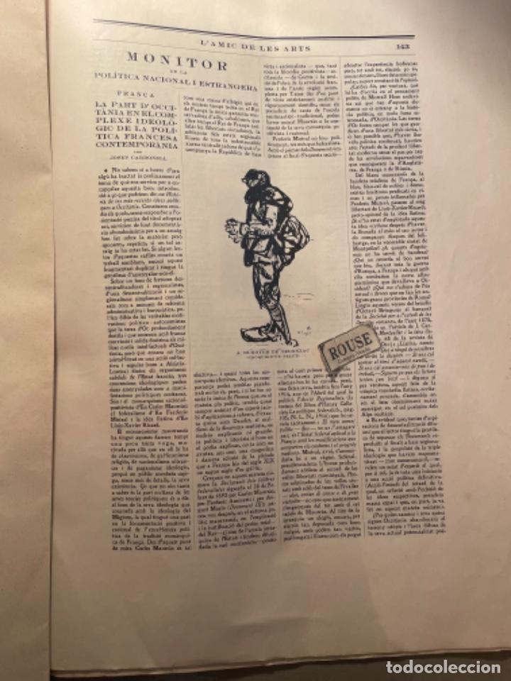 Coleccionismo Papel Varios: VANGUADIAS - REVISTA LAMIC DE LES ARTS - GASETA DE SITGES ANY II Nº12 - 31 DESEMBRE1927 DEDICAT CU - Foto 10 - 274414048