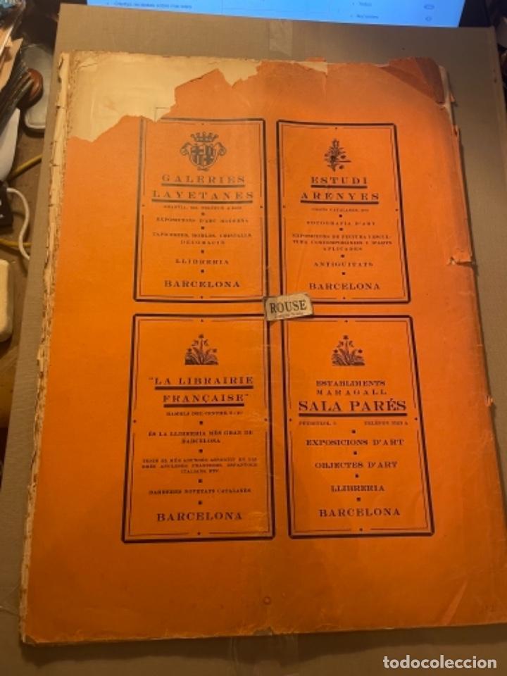 Coleccionismo Papel Varios: VANGUADIAS - REVISTA LAMIC DE LES ARTS - GASETA DE SITGES ANY II Nº12 - 31 DESEMBRE1927 DEDICAT CU - Foto 13 - 274414048