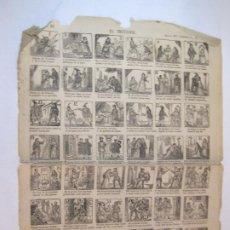 Coleccionismo Papel Varios: EL TROVADOR-AÑO 1876-AUCA MUY ANTIGUA-VER FOTOS-(V-22.589). Lote 274416973