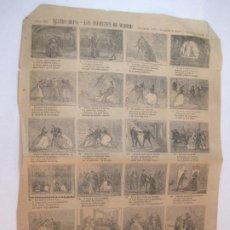 Coleccionismo Papel Varios: TEATRO BUFO-LOS INFIERNOS DE MADRID-AÑO 1873-AUCA MUY ANTIGUA-VER FOTOS-(V-22.591). Lote 274418013