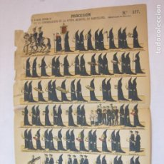 Coleccionismo Papel Varios: PROCESION DE LA CONGREGACION DE LA BUENA MUERTE-BARCELONA-AUCA ANTIGUA-VER FOTOS-(V-22.618). Lote 274423838