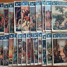 Coleccionismo Papel Varios: 29 EJEMPLARES DE LUCHA DE RAZAS:PIELES ROJAS CONTRA LOS BLANCOS. Lote 275888348