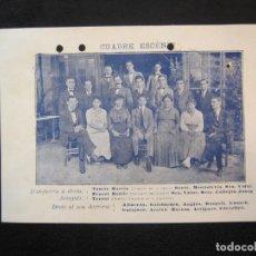 Coleccionismo Papel Varios: VIDA CATALANA-INAUGURACIO TEMPORADA TEATRAL-ANY 1918-MAR I CEL-VER FOTOS-(K-3718). Lote 275943923