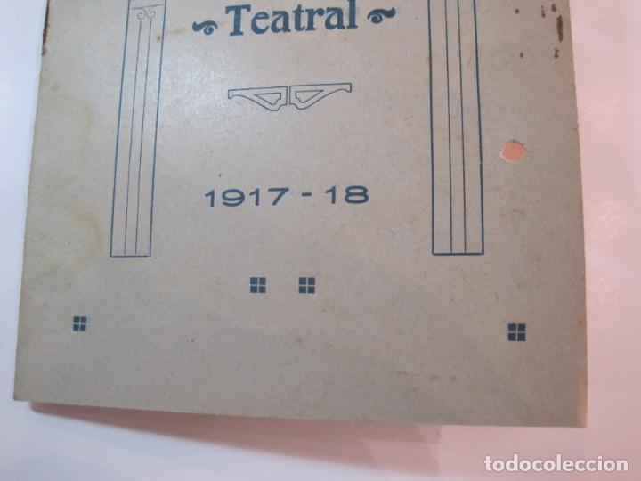 Coleccionismo Papel Varios: VIDA CATALANA-PROGRAMA TEMPORADA TEATRAL 1917 1918-VER FOTOS-(K-3719) - Foto 3 - 275944218