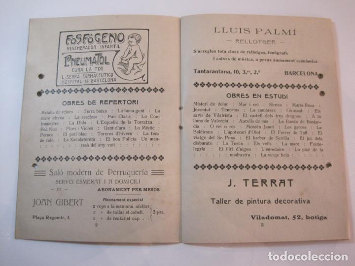 Coleccionismo Papel Varios: VIDA CATALANA-PROGRAMA TEMPORADA TEATRAL 1917 1918-VER FOTOS-(K-3719) - Foto 7 - 275944218